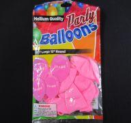 BALLOONS ITS A GIRL 10PK