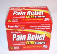 PAIN RELIEF E-STRENGTH 50CT