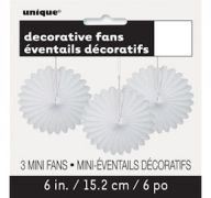 DECOR FANS WHITE