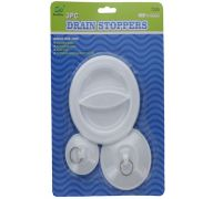 DRAIN STOPPERS 3PC