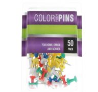 COLOR PUSH PINS