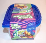 EZ Square Food Container 25 Oz