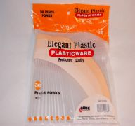 PLASTIC SPOONS CLEAR 7IN DINNERWARE
