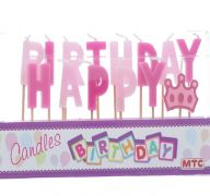 CANDLES HAPPY B-DAY