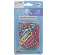 JUMBO PAPER CLIPS COLOR