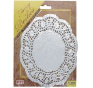 DOILIES SILVER 6.5IN