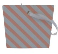 PINK AND WHITE STRIPE TREAT BOX