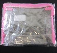 MAKE-UP BAG CLEAR LARGE