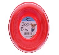 PLASTIC DOG BOWL