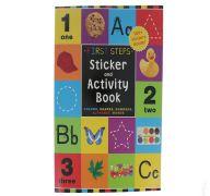First Steps Stickery Activity Book