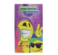 SMILEY COLOR FUN COLORING AND ACTIVITY