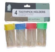 TOOTHPICKS HOLDER 4PC  SUB