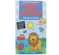 CHILDRENS ACTIVITY BOOK - First words