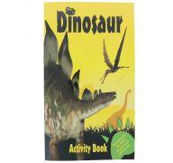 CHILDRENS STICKER ACTIVITY BOOKS - DINOSAUR