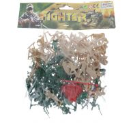 TOY SOLDIERS IN A BAG 100 PCS
