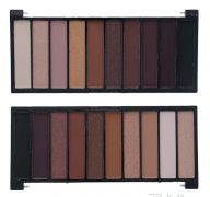 AMUSE COSMETIC EYE SHADOW 10 SHADES