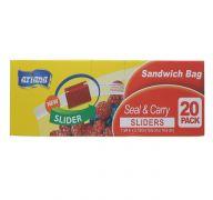 STORAGE BAG SANDWICH SLIDERS 20PK