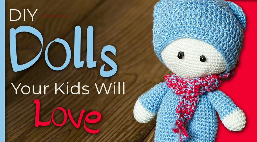 13 DIY Dolls Your Kids Will Love